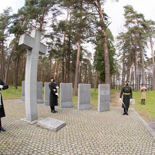Vilniuje pagerbtos Antrojo pasaulinio karo aukos  © KAM nuotr.