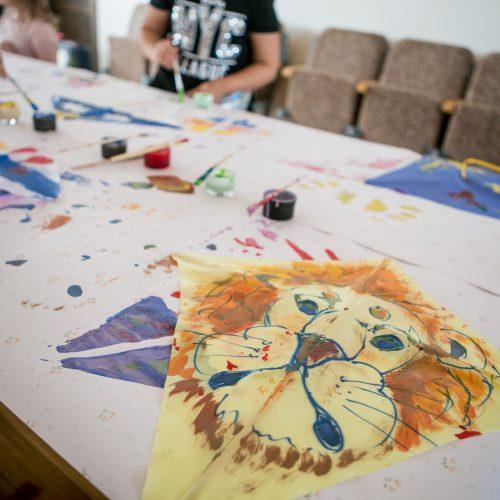 Vaikų piešinių parodos atidarymas Kauno klinikose  © Vilmanto Raupelio nuotr.