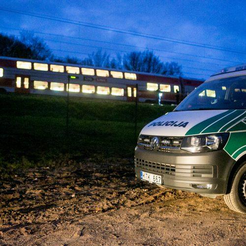 Petrašiūnuose po traukinio ratais žuvo jauna moteris