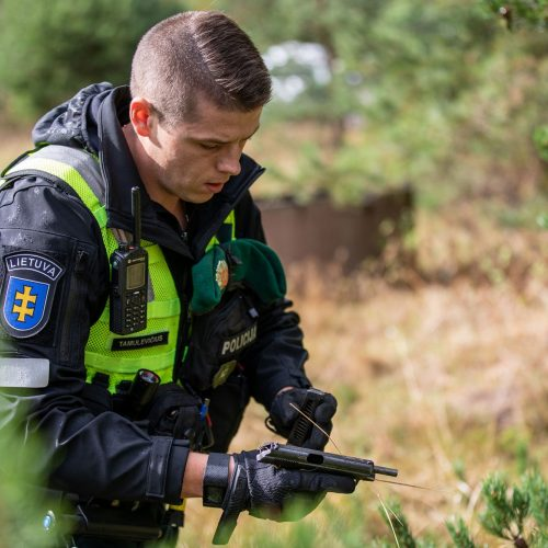Geriausios Lietuvos policijos komandos konkursas  © Lietuvos policijos nuotr.