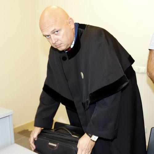 Indros Mačiulienės, kaltinamos sukėlus šiurpią avariją, teismas  © Laimučio Brundzos nuotr.