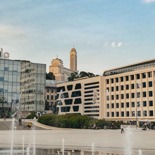 """Miestuose aplink darbovietes linkę formuotis šalia gyvenančių darbuotojų """"burbulai""""  © """"Urban Inventors"""" nuotr."""