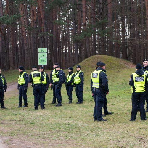 Galimai pagrobtos mergaitės paieška Vilniuje  © Butauto Barausko, I. Gelūno / Fotobanko nuotr.