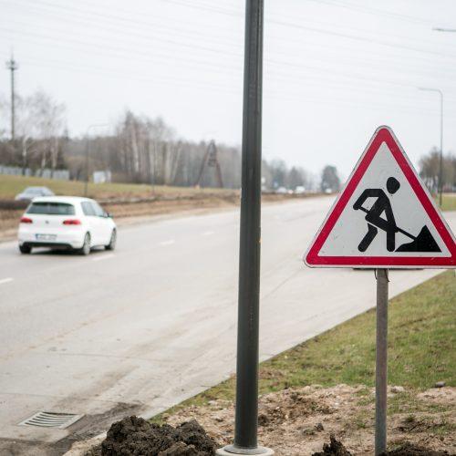 Dėl karantino Kauno tvarkymo darbai nestoja  © Vilmanto Raupelio nuotr.