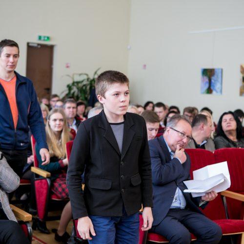 Kauno rajono gabių mokinių pagerbimo šventė  © Vilmanto Raupelio nuotr.