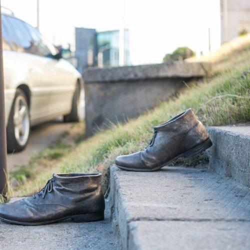 """Naujasis """"Kauno akcentas"""" – """"Pasivaikščiojimas palaimintojo batais"""""""