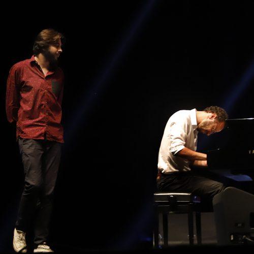 """S. Sobralio koncertas """"Žalgirio"""" arenoje  © Laimučio Brundzos nuotr."""