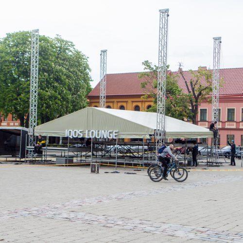 Kaunas ruošiasi gimtadienio šventei  © Laimio Steponavičiaus nuotr.