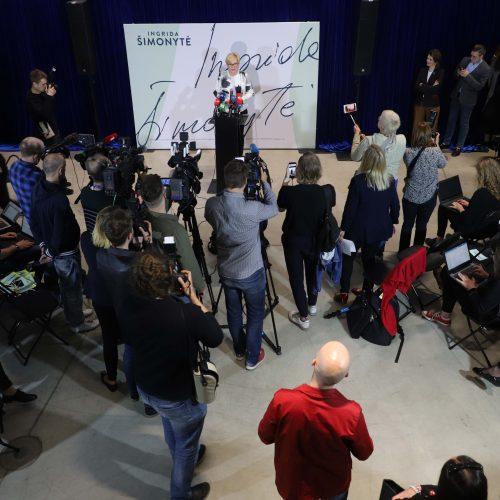 I. Šimonytės rinkimų štabas  © Butauto Barausko ir D. Laibučio/ELTOS nuotr.