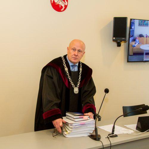 """""""Ryto"""" sirgalių teismas dėl išpuolio Kaune  © Laimio Steponavičiaus nuotr."""