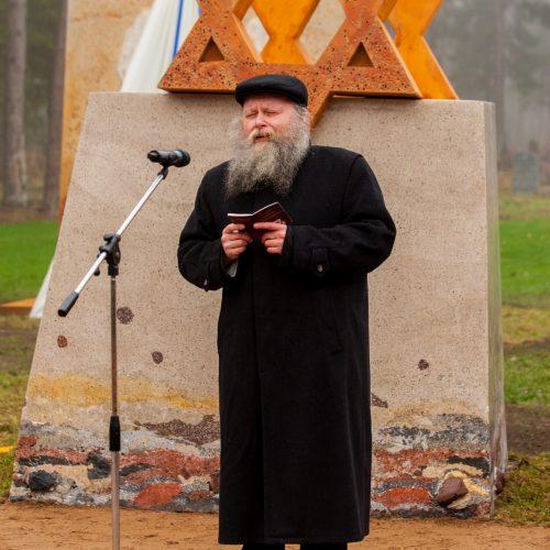 Memorialas Vandžiogalos žydams  © Laimio Steponavičiaus nuotr.