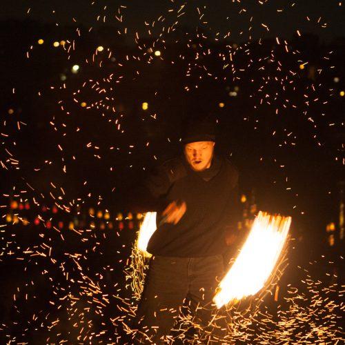 Šviesų šventė Nemuno saloje   © Laimio Steponavičiaus nuotr.