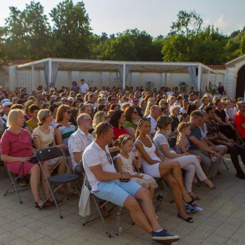 Alinos Orlovos koncertas Pažaislio liepų alėjoje  © Laimio Steponavičiaus nuotr.