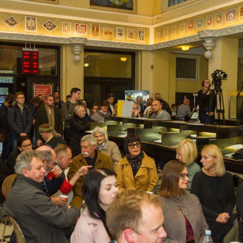 Sprendžiamas Kauno centrinio pašto likimas   © Laimio Steponavičiaus nuotr.