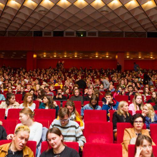 """Pavasario festivalis: filmo """"Valstybės paslaptis"""" peržiūra  © Laimio Steponavičiaus nuotr."""