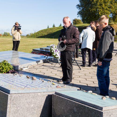 """Pilietinė iniciatyva """"Atminties kelias""""  © Laimio Steponavičiaus nuotr."""