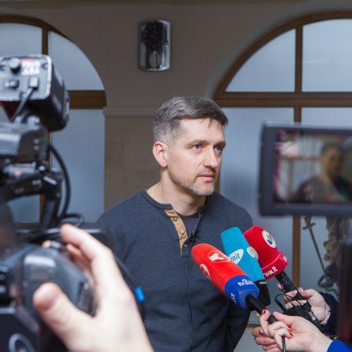 Tęsiama Eglės Kručinskienės byla  © Laimio Steponavičiaus nuotr.