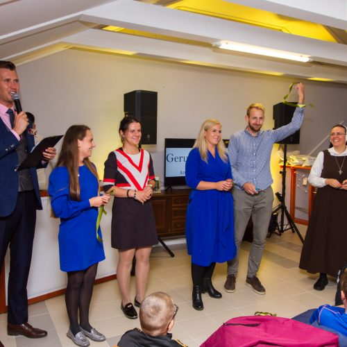 Vilijampolėje atidarytas jaunimo centras  © Laimio Steponavičiaus nuotr.