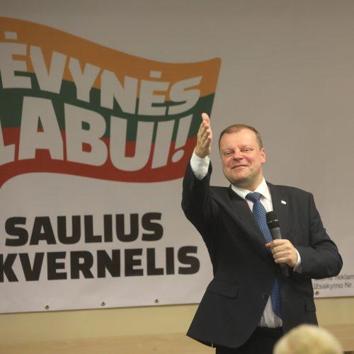 S. Skvernelio rinkimų štabas  © Butauto Barausko ir M. Morkevičiaus/ELTOS nuotr.