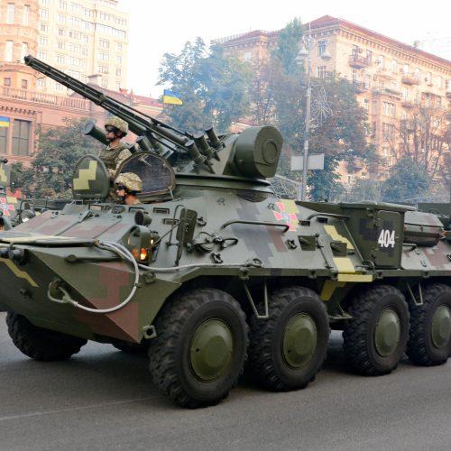 Karinis paradas Kijeve  © Scanpix nuotr.