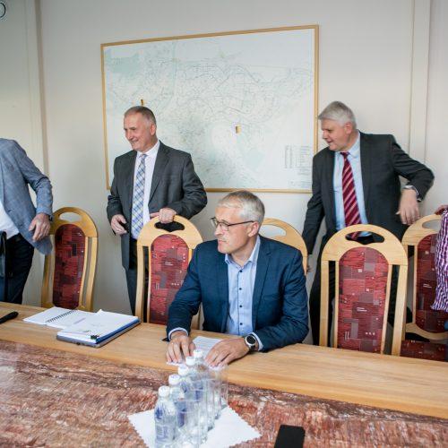 """""""Kauno energijos"""" spaudos konferencija  © Vilmanto Raupelio nuotr."""