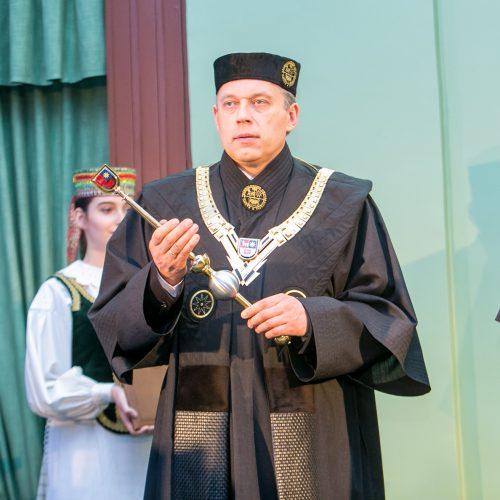 KTU rektoriaus inauguracija  © Vilmanto Raupelio nuotr.
