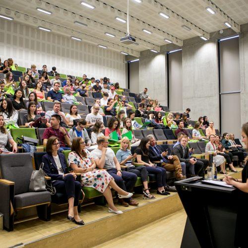 "VDU ""Baltijos vasaros universiteto"" atidarymas"