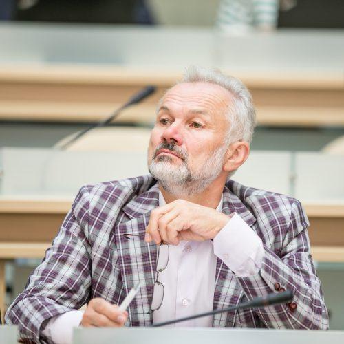 Paskutinis šio pusmečio Kauno tarybos posėdis  © Vilmanto Raupelio nuotr.
