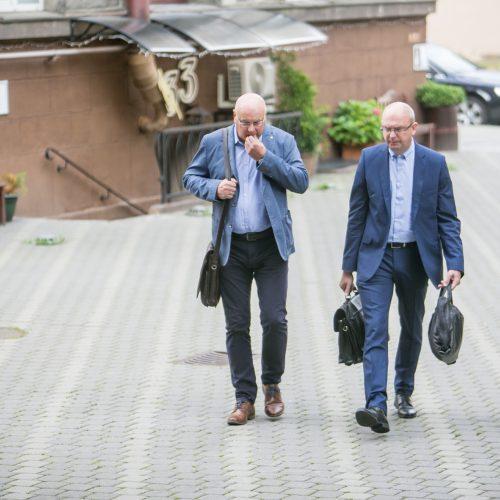 K. Povilaičio ir R. Pudževelio politinės korupcijos byla  © Vilmanto Raupelio nuotr.