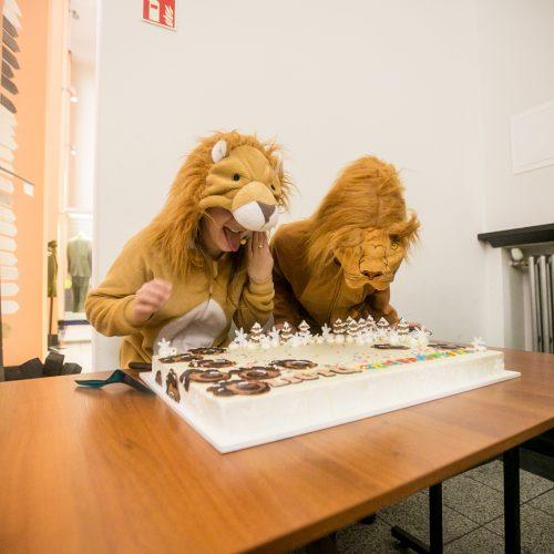 81-as Liūtų gimtadienis Karo muziejuje  © Vilmanto Raupelio nuotr.