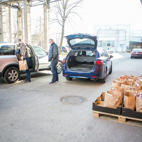 Kauniečius pasiekė SBA savanorių parama  © Vilmanto Raupelio nuotr.