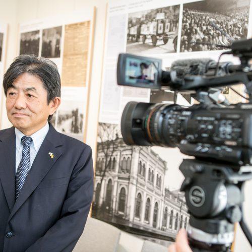 Sugiharos namams japonai suteikė paramą  © Vilmanto Raupelio nuotr.