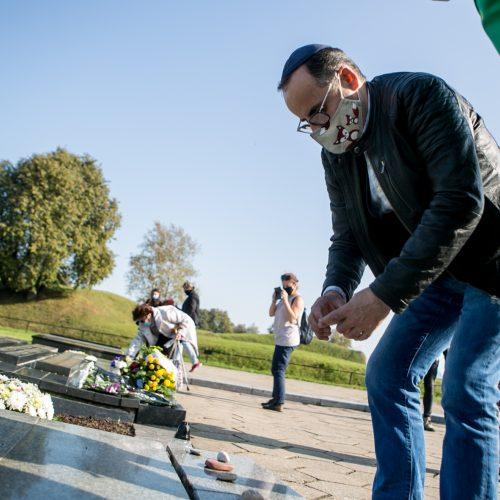 Lietuvos žydų genocido aukų dienos minėjimas IX forte  © Vilmanto Raupelio nuotr.