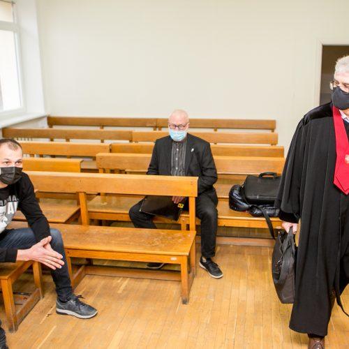 Audrys Karalius teisme  © Vilmanto Raupelio nuotr.