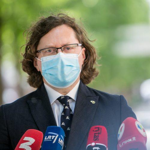 Spaudos konferencija dėl Pravieniškių korupcijos bylos  © Vilmanto Raupelio nuotr.