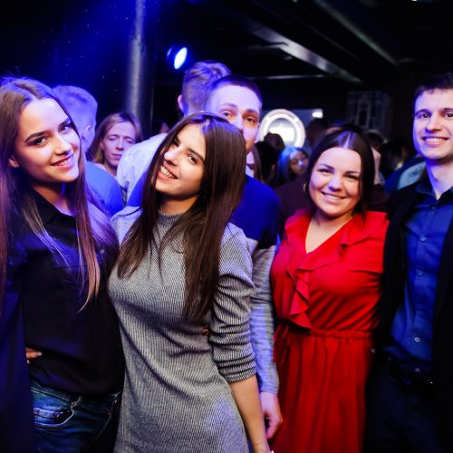 "Diskoteka ""Taboo"" klube  © Ievos Jonelytės nuotr."