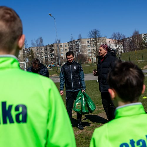 Gatvės vaikų dienos futbolo turnyras Vilniuje  © P. Peleckio / Fotobanko nuotr.
