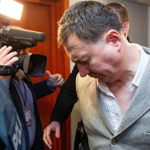 Į teismą atvestas žmones parduotuvėje sužalojęs Rusijos pilietis  © I. Gelūno / Fotobanko nuotr.
