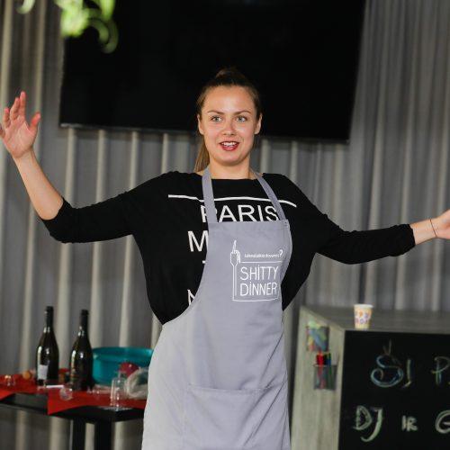 "Vakarienė-interaktyvus spektaklis ""Shitty Dinner"" Kaune  © T. Biliūno / Fotobanko nuotr."