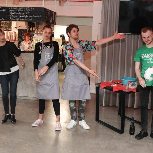 "Vakarienė-interaktyvus spektaklis ""Shitty Dinner"" Kaune"