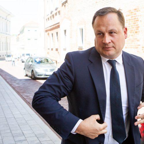 Generalinis prokuroras susitiko su G. Nausėda  © P. Peleckio / Fotobanko nuotr.