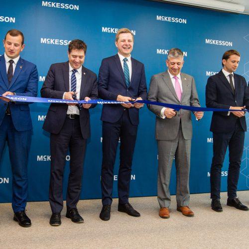 """""""McKesson Business Services"""" biuro Vilniuje atidarymas"""