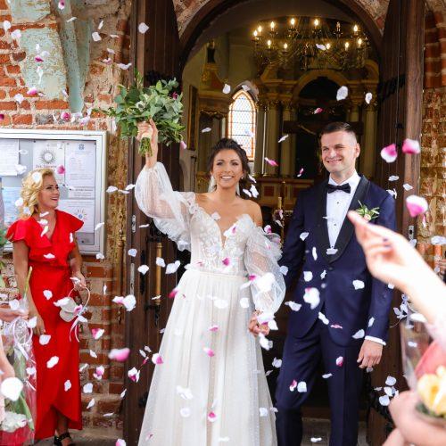 Krepšininkų G. Jasiunskaitės ir T. Dimšos vestuvės
