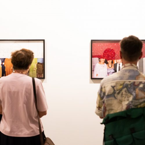 """Parodos """"Fotografiniai suvenyrai"""" atidarymas  © G. Skaraitienės / Fotobanko nuotr."""