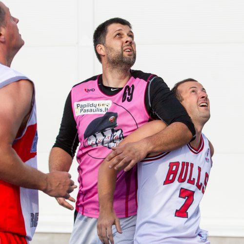 """""""Kažkur Matytų"""" 3x3 krepšinio turnyras  © P. Peleckio / Fotobanko nuotr."""