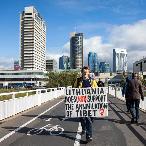 Komunistinio teroro Kinijoje aukų minėjimas  © I. Gelūno / Fotobanko nuotr.