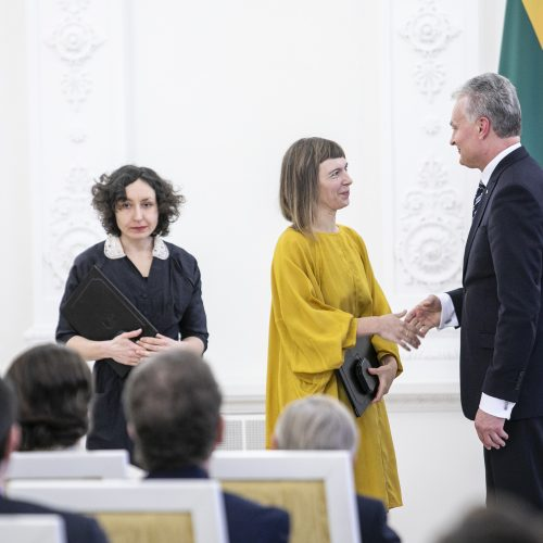 Nacionalinių kultūros ir meno premijų įteikimas  © P. Peleckio / Fotobanko nuotr.