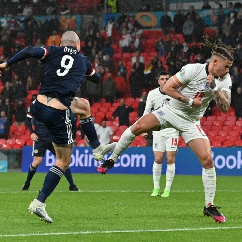 Europos futbolo čempionatas: Anglija–Škotija 0:0