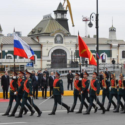Šiaurės Korėjos lyderio vizitas Rusijoje  © Scanpix nuotr.