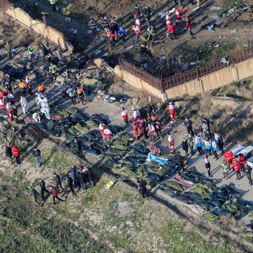 Irane sudužo Ukrainos keleivinis lėktuvas